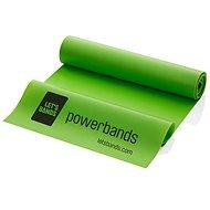 LET BANDS FLEX zelená - Posilňovacia guma