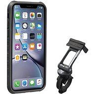 Topeakl Ridecase pre iPhone XR čierny/sivý - Držiak na mobil