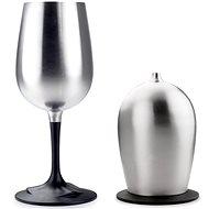 GSI Outdoors Glacier Stainless Nesting Wine Glass - Kempingový riad