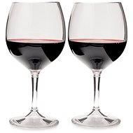 GSI Outdoors Nesting Red Wine Glass Set - Kempingový riad
