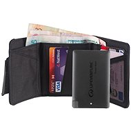 Lifeventure RFiD Charger Wallet + Powerbank grey