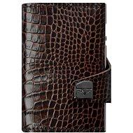 Tru Virtu Click & Slide - Croco Brown Leather - Wallet