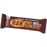 Bombus Raw protein-Peanut butter 50 g 4pack - Raw tyčinka