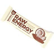 Bombus Raw energy Cocoa + coconut 50 g 4pack - Raw tyčinka