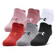 Under Armour Essential ružová/biela 36 – 41 - Ponožky