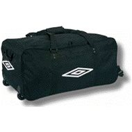 Umbro Mammoth Carrier Bag Black/White XXXL - Cestovný kufor