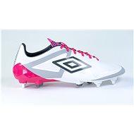 Umbro Velocita PRO SG White/Pink, veľkosť 41 EU/260 mm - Kopačky