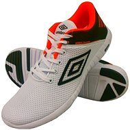 Umbro RUNNER 3 White/Black /Fiery coral - Bežecké topánky