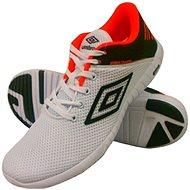 Umbro RUNNER 3 White/Black/Fiery coral veľkosť 44 EU/280 mm - Bežecké topánky
