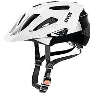 Uvex Quatro, White Mat-Black M - Prilba na bicykel