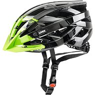 Uvex I-Vo C, Dark Silver-Green - Prilba na bicykel