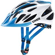Uvex Flash, White Blue S/M - Prilba na bicykel