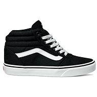 VansWM Ward Hi (Canvas) Black/White veľkosť 36,5 EU/230 mm - Vychádzková obuv