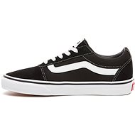 Vans WM Ward (SUEDE/CANVAS) BLACK/WHITE - Vychádzková obuv