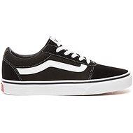 VansWM Ward (SUEDE/CANVAS) BLACK/WHITE veľkosť 42,5 EU/275 mm - Vychádzková obuv