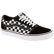 Vans MN Ward (CHECKERED) BLACK/TRUE WH - Vychádzková obuv