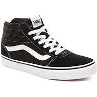 Vans WM Ward Hi (SUEDE/CANVAS) čierne - Vychádzková obuv
