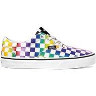 Vans WM Doheny (RAINBOW CHECK) fialové - Vychádzková obuv
