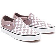 Vans WM Asher (Checkerboard) fialová EU 37 / 235 mm - Vychádzková obuv