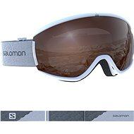 Salomon iVY ACCESS Whte/Univ. T.Orange - Lyžiarske okuliare