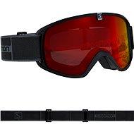 Salomon TRIGGER Black/Univ. Mid Red - Lyžiarske okuliare