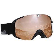 Salomon XVIEW ACCESS Bk-Wh/Univ.T.Oran - Lyžiarske okuliare