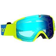 Salomon XVIEW Neon Yellow/Uni Mid Blue - Lyžiarske okuliare