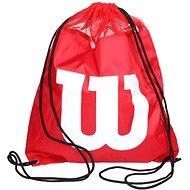 Wilson W Cinch Bag Red