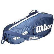 Wilson Team III 3 Pack Blue White - Športová taška