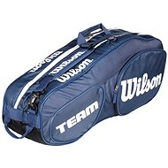 Wilson Team III 6 Pack Blue White - Športová taška