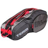 Wilson Team III 6 Pack Black grey - Športová taška