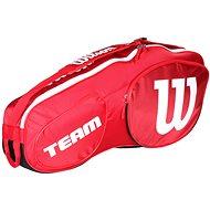 Wilson Team III 3 Pack Red White - Športová taška