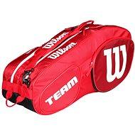 Wilson Team III 6 Pack Red White - Športová taška