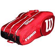 Wilson Team III 12 Pack Red White - Športová taška