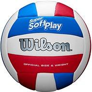 Wilson SUPER SOFT PLAY VB WHRDBLUE veľ. 5 - Volejbalka