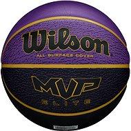 Wilson MVP Elite bskt purple/black, veľ. 7 - Basketbalová lopta