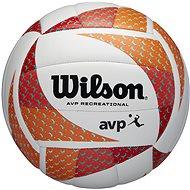 Wilson AVP Style vb orange/white - Lopta na plážový volejbal