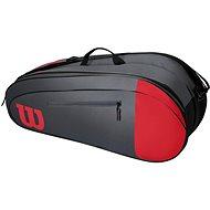 Wilson Team 6PK Red/Gray - Športová taška