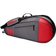 Wilson Team 3PK Red/Gray - Športová taška