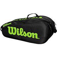 Wilson Team 2 Comp Black/Green - Športová taška