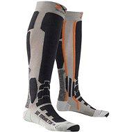 X-SOCKS SKI RADIACTOR XITANIT TECHNOLOGY Silver/Anthracite - Lyžiarske ponožky