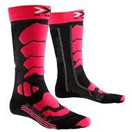 X-SOCKS – SKI CONTROL 2.0 LADY Light Grey Melange Violet - Dámske lyžiarske ponožky