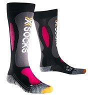 X-SOCKS – Ski Carving Silver Woman - Dámske lyžiarske ponožky