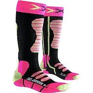 X-SOCKS – SKI JUNIOR Fuchsia Yellow - Detské lyžiarske ponožky