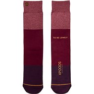 XPOOOS Essential Bamboo Red/Purple - Ponožky