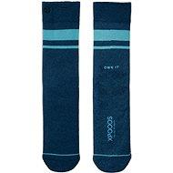 XPOOOS Essential Bamboo Dark/Light Blue - Ponožky