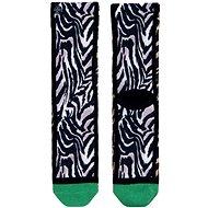 XPOOOS Tiger Black, veľkosť UNI - Ponožky