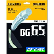 Yonex BG 65 white - Bedmintonový výplet