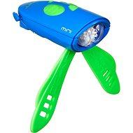 Mini Hornit Zábavná húkačka so svetlom modrá - Zvonček na bicykel