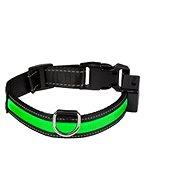 Eyenimal svietiaci obojok pre psy – zelený – M